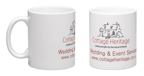 cottage heritage mug